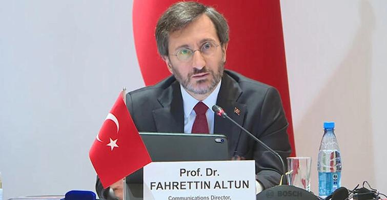 Fahrettin Altun, Türk Konseyi Toplantısı için Bakü'ye Gitti