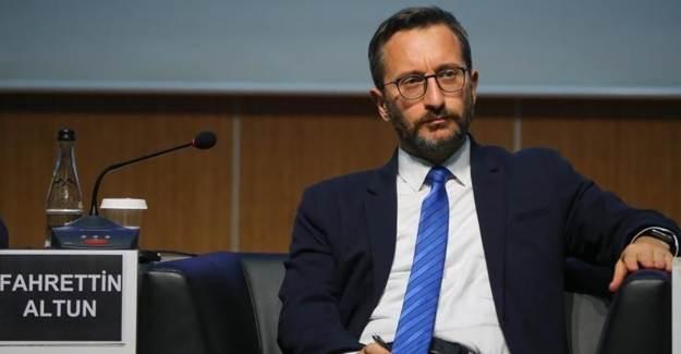 Fahrettin Altun'dan İzmir'deki Rezalete Sert Tepki