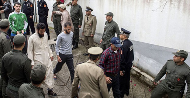 Fas'ta 2 Turisti Öldüren Teröristler İdam Cezasına Çaptırıldı