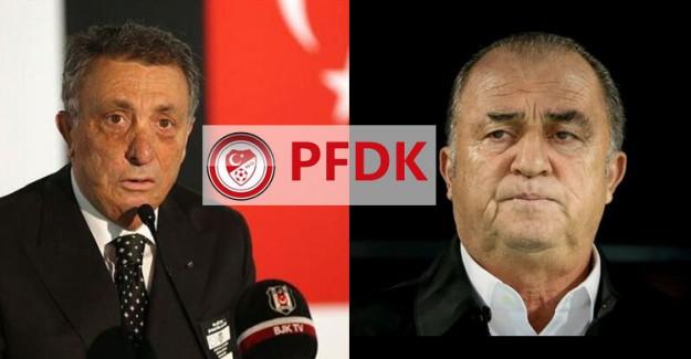 Fatih Terim Ve Ahmet Nur Çebi PFDK'ya Sevk Edildi