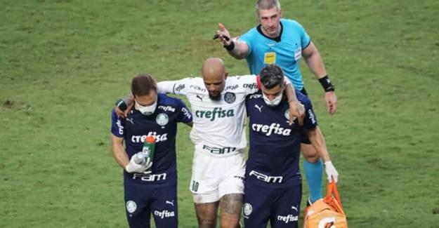 Felipe Melo'nun Ayak Bileği Kırıldı