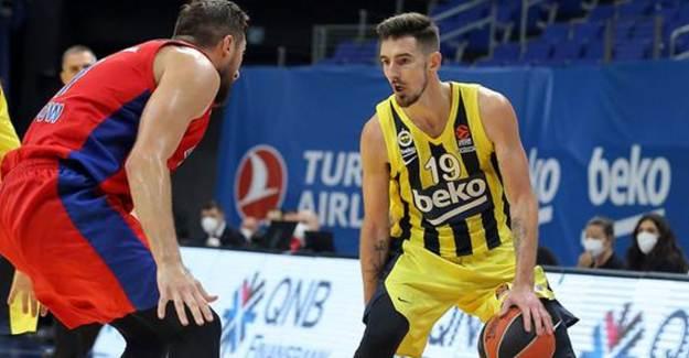 Fenerbahçe 77-78 CSKA Moskova