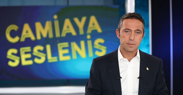 Fenerbahçe Başkanı Ali Koç'tan Çarpıcı Açıklamalar!
