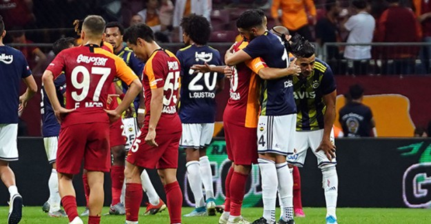 Fenerbahçe - Galatasaray Arasında Gerçekleşen Son 5 Karşılaşma Berabere Bitti
