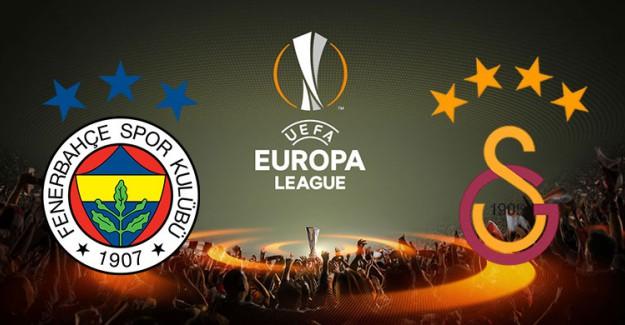 Fenerbahçe ve Galatasaray'ın UEFA Avrupa Ligi'ndeki Rakipleri Belli Oluyor!