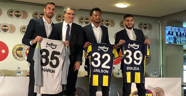 Fenerbahçe'den Harun, Jailson ve Benzia'ya İmza Töreni!