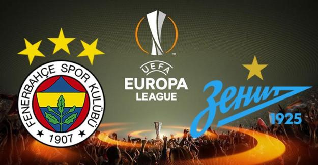 Fenerbahçe'nin UEFA Avrupa Ligi'ndeki Rakibi Zenit Hakkında Bilinmesi Gerekenler