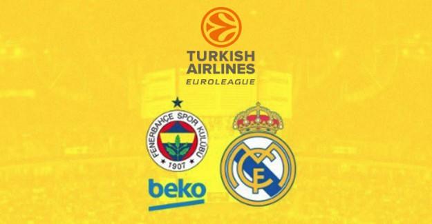 Fenerbahçe-Real Madrid Canlı İzle, Ne Zaman, Saat Kaçta?
