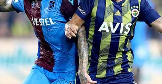 Fenerbahçe-Trabzonspor 11'leri belli oldu