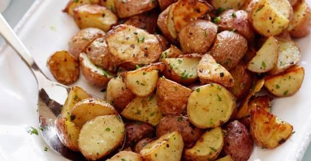 Fırında Sağlıklı Patates Tarifi