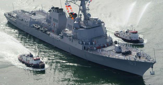 Flaş Flaş! ABD Savaş Gemilerine Füzeli Saldırı!