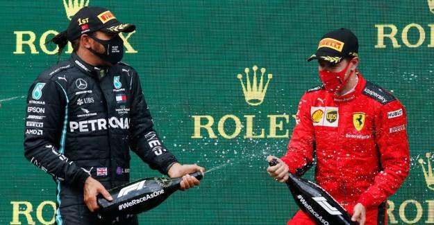 Formula 1 Kutlamalarında Şampanya Kullanılmadı