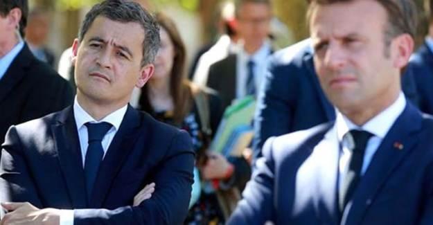 Fransa İçişleri Bakanı'ndan Adi ve Faşizan Açıklama