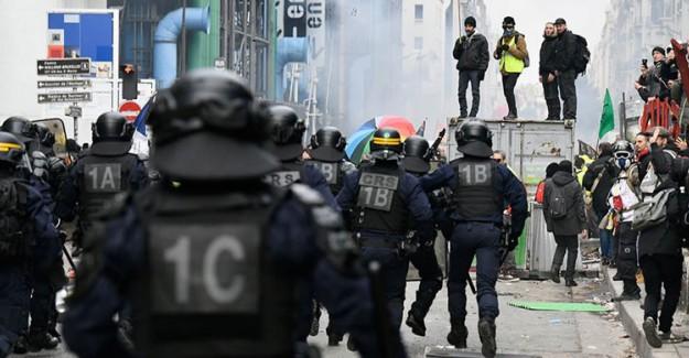 Fransa Yeni Yıla Grevlerle Birlikte Giriyor