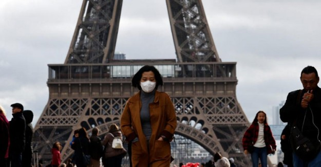 Fransa'da Coronavirüs Kaynaklı Can Kaybı Bin 696'ya Yükseldi