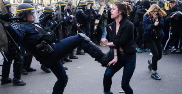 Fransa'da Polis Orantısız Güç Kullanıyor!