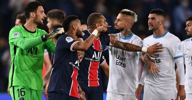 Fransa'da PSG-Marsilya Derbisine Ceza Yağdı!