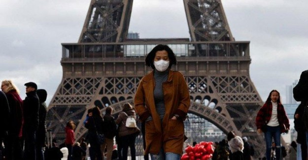 Fransa'da Son 24 Saatte 319 Kişi Daha Öldü