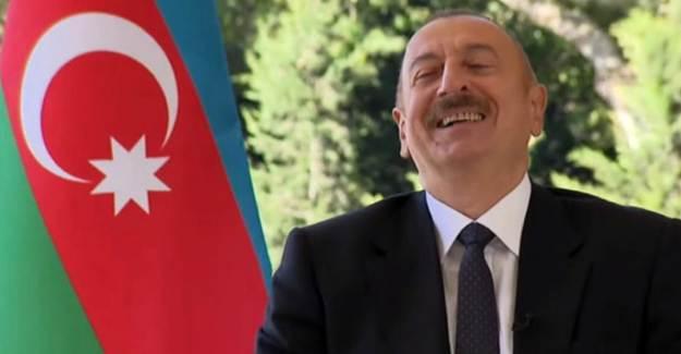 Fransız Sunucunun Türk İHA'sı Sorusuna Aliyev Gülerek Cevap Verdi