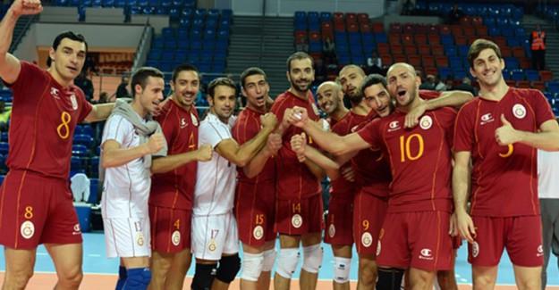 Galatasaray Erkek Voleybol Takımı CEV Kupası'nda Yarı Finale Yükseldi