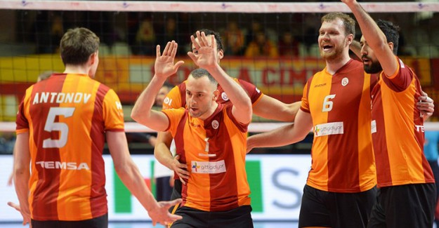 Galatasaray Erkek Voleybol Takımı Kuzbass'ı Ağırlayacak