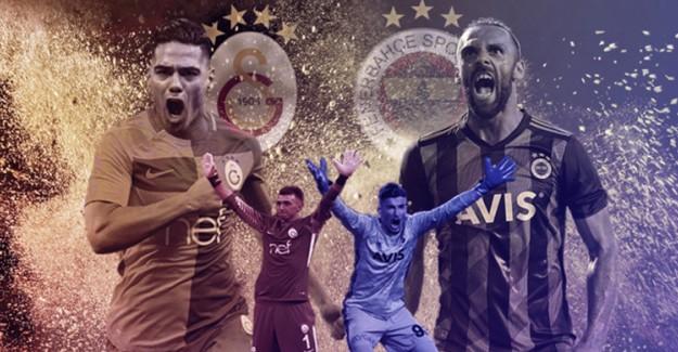 Galatasaray - Fenerbahçe Derbisi İçin Nefesler Tutuldu