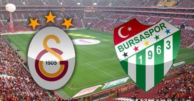 Galatasaray-Bursaspor Maçının Saatinde Değişiklik!