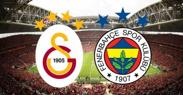 Galatasaray-Fenerbahçe Derbisinin Muhtemel 11'leri