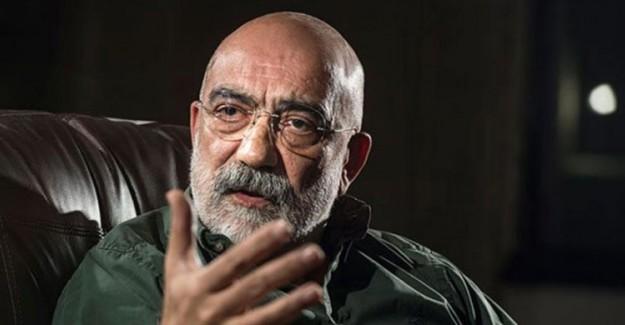 Gazeteci Ahmet Altan'a, Cumhurbaşkanı'na Hakaretten 7 Bin Lira Para Cezası Verildi