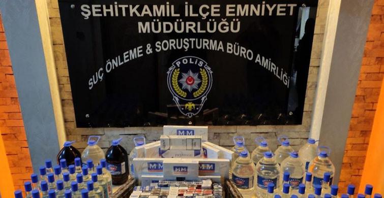 Gaziantep'te Kaçak Alkol Operasyonu Gerçekleşti