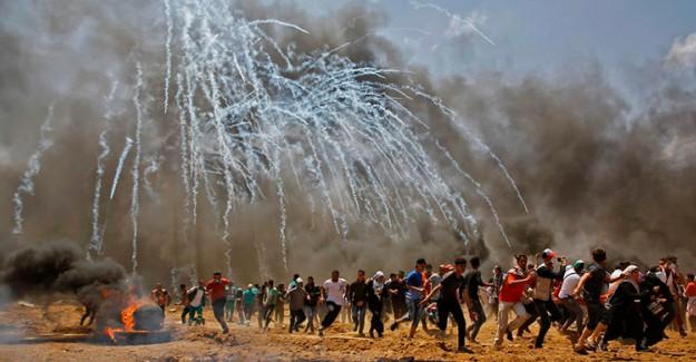 Gazze Şeridi'nde Uçaklı Saldırı