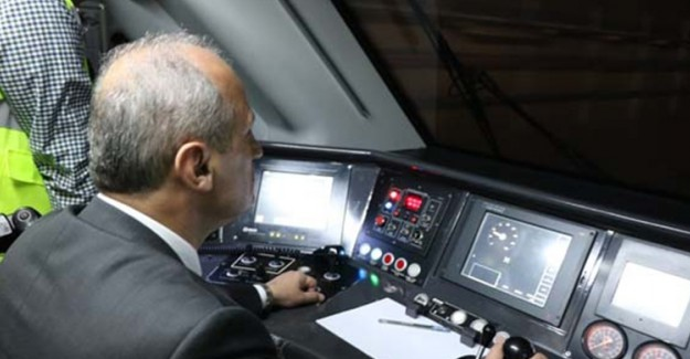 Gebze - Halkalı Arası Yüksek Hızlı Tren'in Test Sürüşü Yapıldı