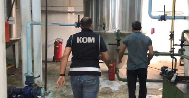 Gemiyle Yurt Dışına Biodizel Yakıt Kaçırmaya Çalışanları Polis Yakaladı