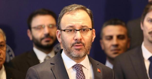 Gençlik ve Spor Bakanı Kasapoğlu: 'Sağlığımız için evlerimizde kalalım'