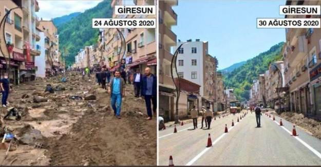 Giresun'da Sel Felaketinin Ardından Büyük İyileşme!