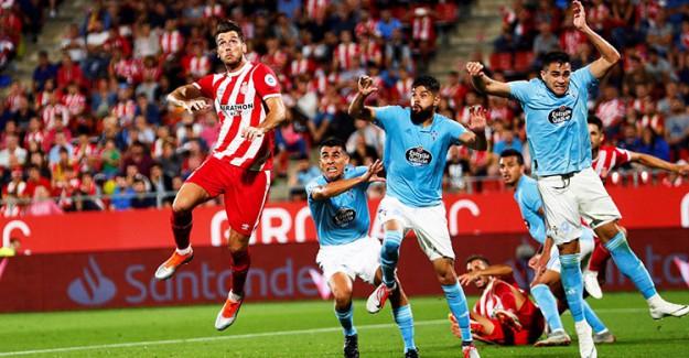 Girona, Celta Vigo'ya 'Dur' Dedi!