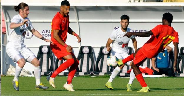 Göztepe ile Eskişehirspor Hazırlık Maçında Yenişemedi