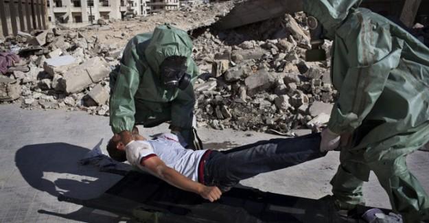 Halep'e Kimyasal Saldırıda 4'ü Çocuk 73 Sivil Tedavi Altına Alındı