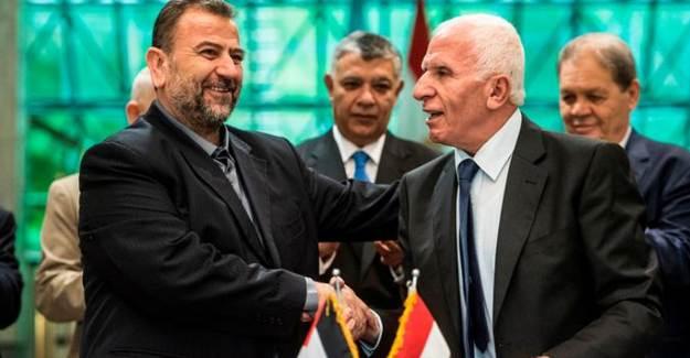 Hamas ve El Fetih Liderleri Ankara'da Buluştu!