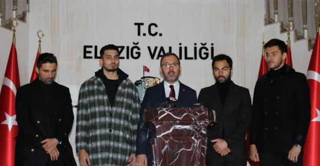 Hasan Ali Kaldırım Ve Selçuk İnan Elazığ'da Açıklamalarda Bulundu
