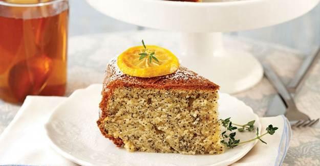 Haşhaşlı Limonlu Kek Tarifi