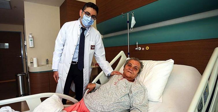 Hastanede Hayatının Şokunu Yaşadı! Karnından 10 Kiloluk Kitle Çıktı!