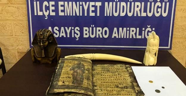 Hatay'da Tarihi Eser Kaçakçılığı Operasyonu: 3 Gözaltı