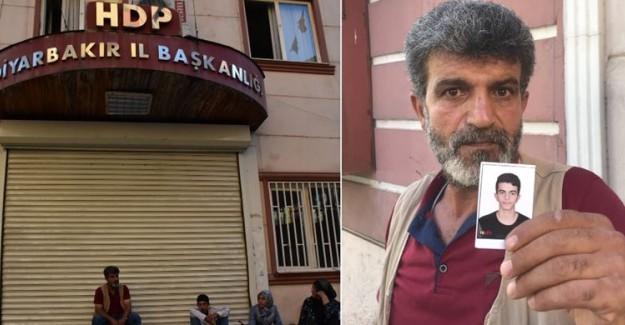 HDP Binasının Önünde Gerçekleşen Eyleme Dahil Olan Baba Konuştu
