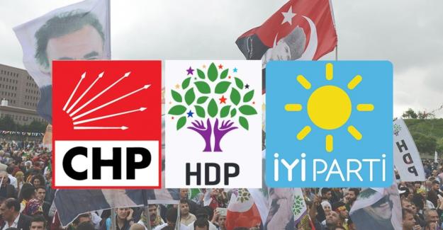 HDP, CHP ve İP'yi Tehdit Etti