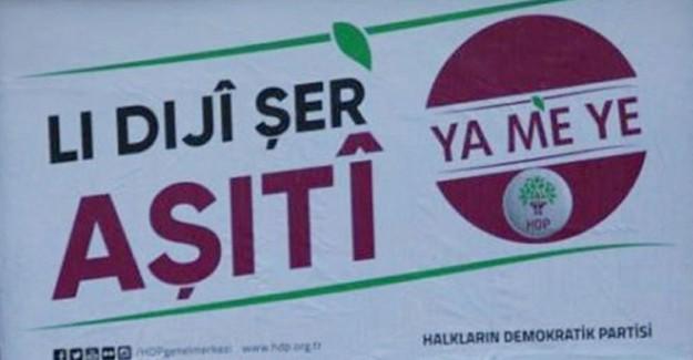 HDP'nin Şanlıurfa'da Astığı Pankartlar Mahkeme Kararı ile Kaldırıldı