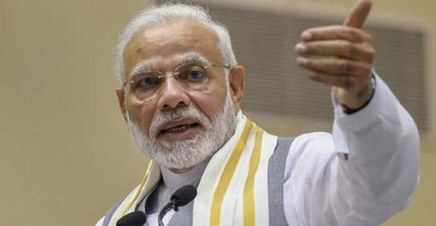 Hindistan Başbakanı Modi Pakistan'a Karşı Suçlamalarda Bulundu