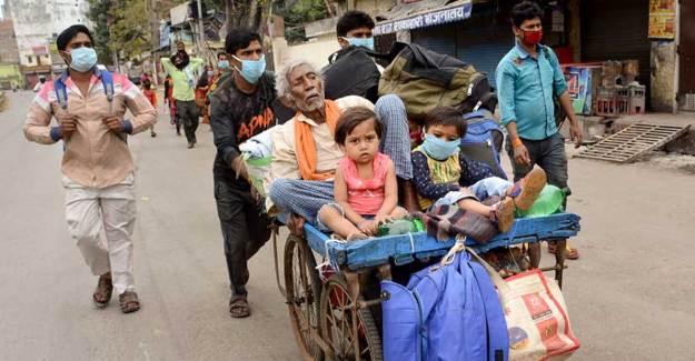 Hindistan'da Vaka Sayısı 125 Bini Geçti