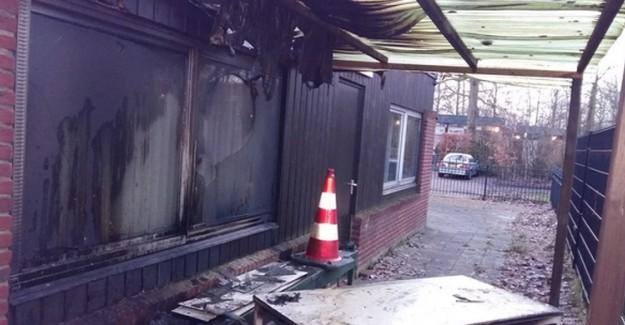 Hollanda'da Çirkin Saldırı! Bir Cami Daha Kundaklandı