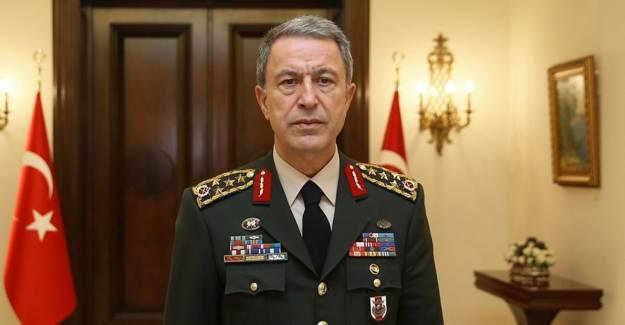 Hulusi Akar Azerbaycanlı Mevkidaşı Hasanov ile Görüştü